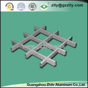 Pop Aluminum Open Cell Grid Ceiling for Shopping Mall and Metro Station pictures & photos