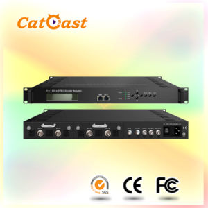 4-Channels SDI to DVB-C Modulator (CATV, HDTV) pictures & photos
