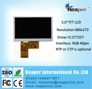 "High Brightness 480*272 5""TFT LCD Module for Doorbell. Car Series pictures & photos"