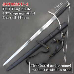 Handmade Medieval Swords with Scabbard 113cm Jot082cu-1 pictures & photos