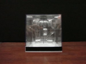 Square Transparent Simple Small Background Color Selection Plastic Box pictures & photos