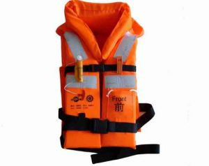 Marine Orange Foam Working Vest Life Jacket with Cheap Price pictures & photos