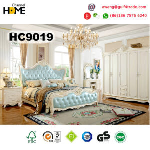 New Classical Type Wooden Bedroom Set/Home Furniture (HC9019) pictures & photos