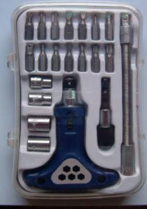 21-Piece Professional Ratchet Screwdriver Set (FY100-21B) pictures & photos