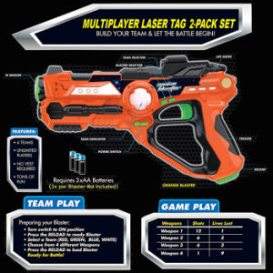 Multi Player Laser Tag for Kids Toy with Deluxe 2 Pack Laser Tag Gun Set pictures & photos