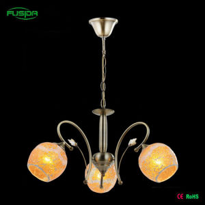 Modern Glass Round Flower Glass Chandelier pictures & photos
