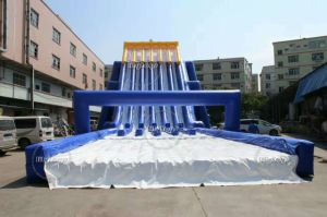 New Style Commercial Six Lanes Giant Inflatable Water Slide for Adult pictures & photos