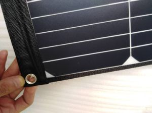40W Sunpower Foldable Flexible Soft Elastic Portable Solar Mobile Phone Power Panel Charger pictures & photos