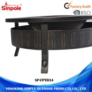 Rust-Resistant Garden Fire Pit BBQ Table Outdoor pictures & photos