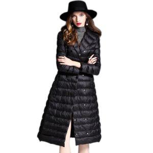 Girls Honey Winter Oversize Down Women Long Jackets for Women pictures & photos