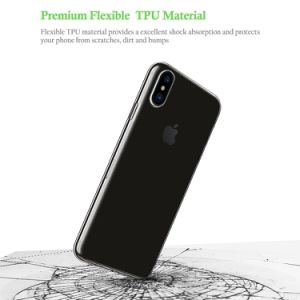 Premium Flexible Ultra Slim Crystal Clear Shock-Absorption Anti Slip Scratch Resistant TPU Case Cover for iPhone8 pictures & photos