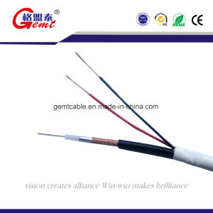 PVC Insulation Copper Braid Sywv Coaxial Cable pictures & photos