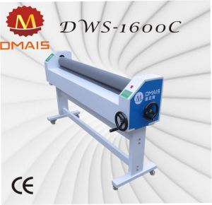 Wide Format Cold Manual Laminator for Fabric with PVC Film pictures & photos
