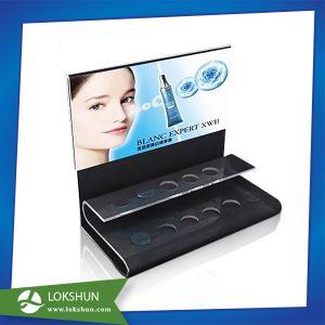2 Tiers Acrylic Countertop Display Cosmetic Pop Display Organizer pictures & photos