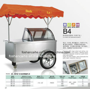 Algeria Mobile Ice Cream Push Carts/Ice Cream Carts pictures & photos