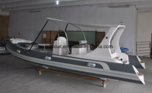 Liya 20FT Hypalon Inflatable Fishing Rigid Hull Boat pictures & photos