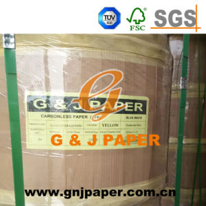Wood Pulp 6000m 12000m NCR Paper with Blue Image pictures & photos