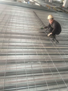Hot Steel Galvanized Corrugated Metal Joists Floor Decking Sheet for Concrete pictures & photos