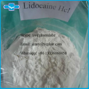 Hot Sale Pharmaceutical Chemical Powder to Kill Pain Lidocaine Hydrochloride pictures & photos