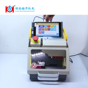 Hot Sales Sec-E9 Fully Automatic Key Code Cutting Machine for Car and House Keys pictures & photos