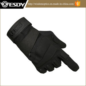Tactical Gear Full Finger Outdoor Sports Gloves Army Green Colors pictures & photos
