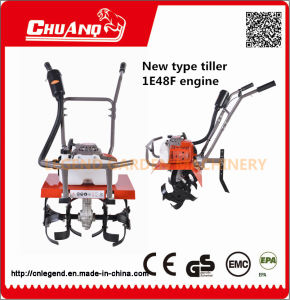 Gasoline Mini Rotary Tiller Small Land Farm Cultivator pictures & photos