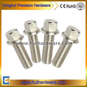 Stainless Steel 304/316/A2/A4 Hex Bolt with Flange Head pictures & photos