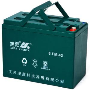 12V 42ah Rechargeable Lead Acid Auto Battery (6-FM-42)