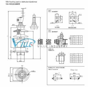 10kv Bushing Used on Distrbution Transformer I pictures & photos