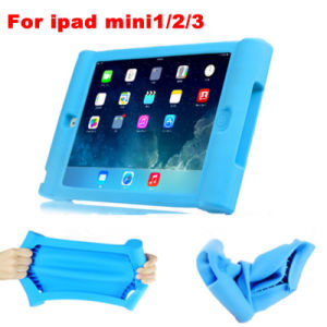 Anti-Slip and Shock-Proof Soft Protective Silicone Case for iPad Mini1/2/3