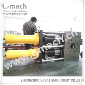 Continuous Hydraulic Screen Changer for Film Blowing Extrusion Machine pictures & photos