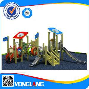2014 Unique Design of Outdoor Playground Equipment Wood Series pictures & photos