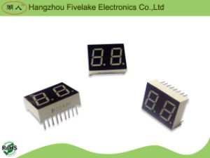 "0.5"" Dual Digits 7 Segment LED Numeric Display (WD05022-A/B) pictures & photos"