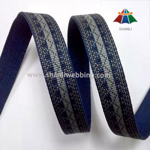 2cm Jacquard Poly Webbing for Garment Factory pictures & photos