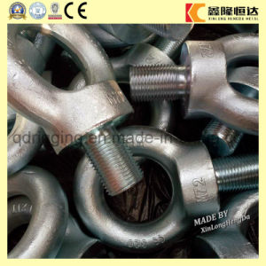 Carbon Steel Drop Forged Galvanized Lifting DIN580 Eye Bolt pictures & photos