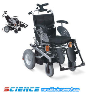 Steel Reclining Power Wheelchair Sc-Ew06 pictures & photos