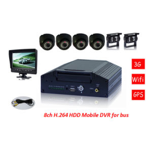 8CH High Quality Mobile Car DVR 3G Manufacturer pictures & photos