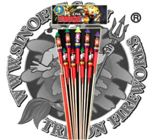 Smile Face Rocket Fireworks Factory Direct Price pictures & photos