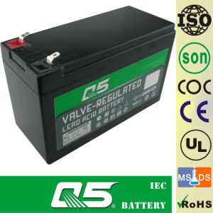 12V9.0AH, valve regulated lead acid battery Can customize 7.5AH, 8.0AH Solar Battery GEL Battery Wind Energy Battery Non standard Customize products pictures & photos