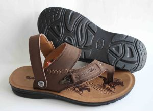 Classic Style Genuine Leater of Men Beach Sandal (SNB-14-005) pictures & photos
