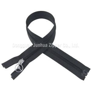 5# Plastic No Lock Puller Open End Nylon Coil Zipper (JH-NZ-20)