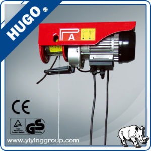 China Alibaba PA Mini Electric Hoist 100kg pictures & photos