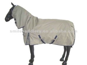 Warm Ripstop Polyester Oxford Winter Horse Comb Blanket (SMD003) pictures & photos