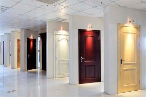 Simple Design Veneer Timber Solid Wooden Doors (SC-W008) pictures & photos