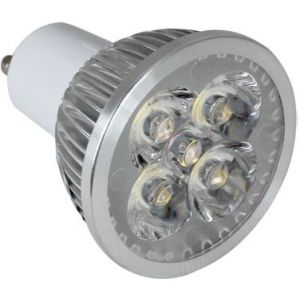 5X1w Dimmable CE 3 Years Warranty LED GU10