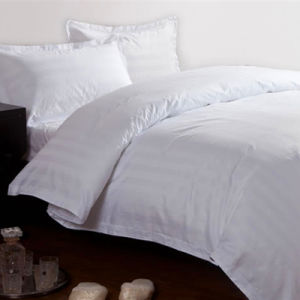 Bedding Set (BE-001) 100% Cotton White Clean Hotel Bedding Manufacturer pictures & photos