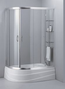 Tempered Glass Simple Shower Room\ Shower Cabin pictures & photos