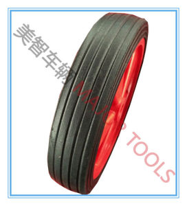 Factory Directly Sell 10X2 Solid Rubber Hand Trolley Wheel pictures & photos