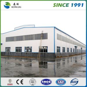 Galvanized Steel Structure Warehouse with EPS Sandwich Panel pictures & photos