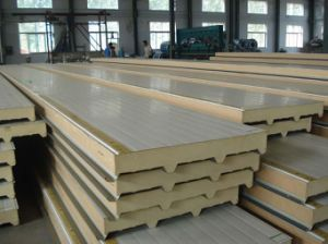 Insulated Sandwich Composite Polyurethane Panel pictures & photos